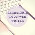web writer, blogger, social media manager