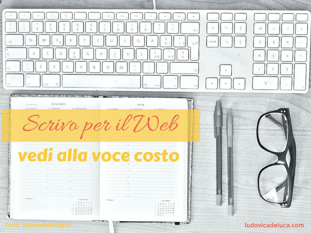 Web Writer costo