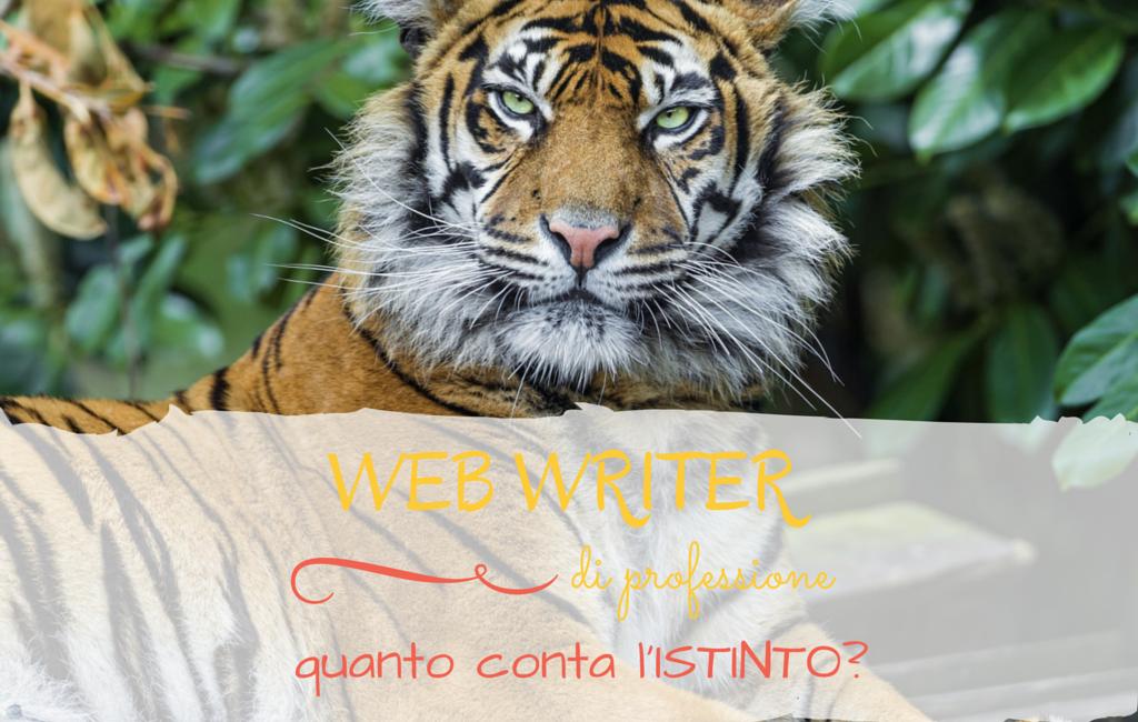 Web Writer e copywriter istinto