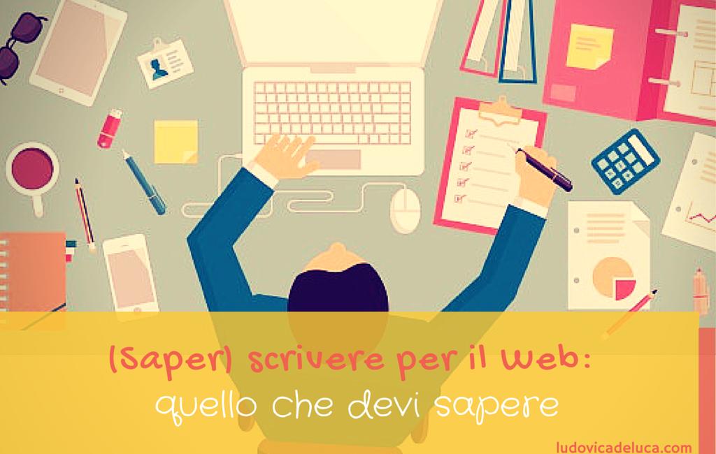 (Saper) scrivere per il Web