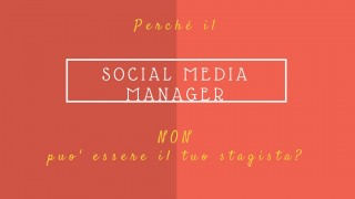 social media manager professionista