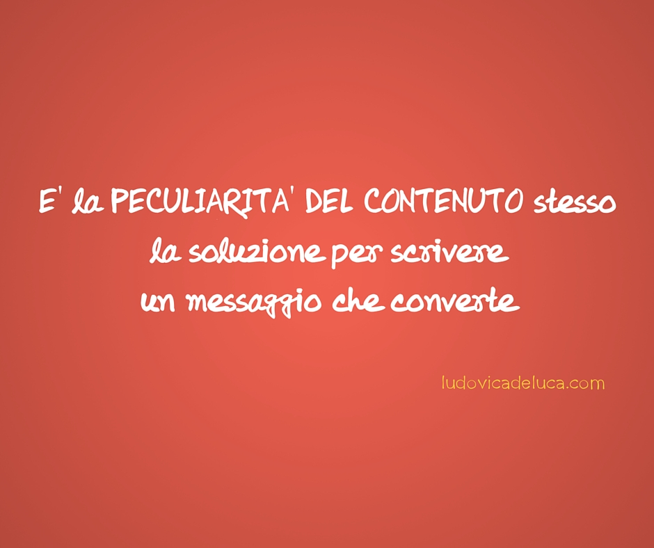 Content Marketing_peculiarità contenuto