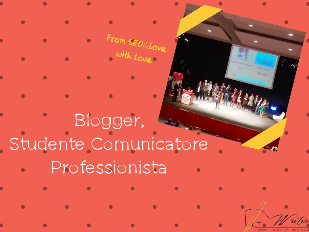 Blogger, lo studente comunicatore professionista