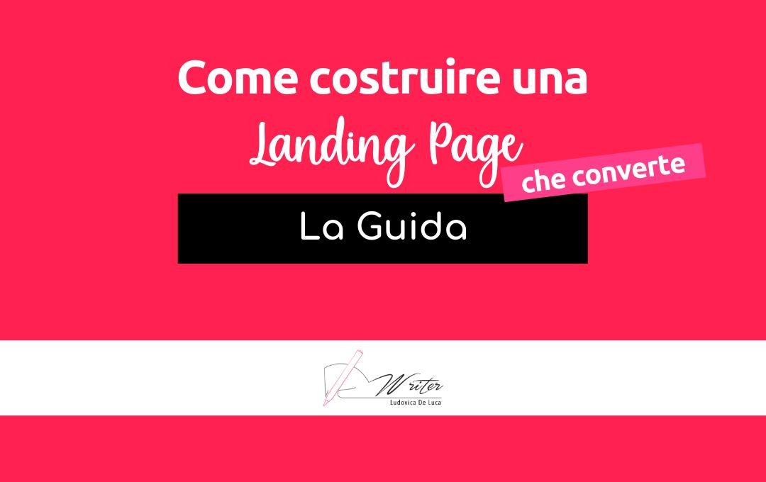 Come costruire una landing page