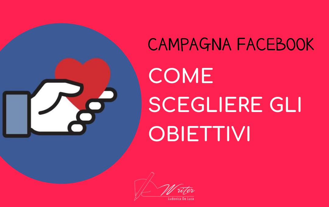 Obiettivi campagna Facebook