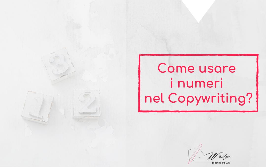 Numeri nel Copywriting