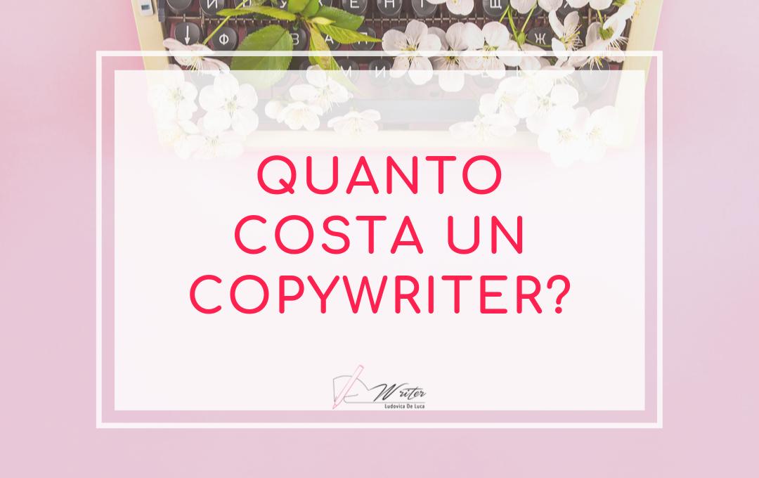 quanto costa un copywriter