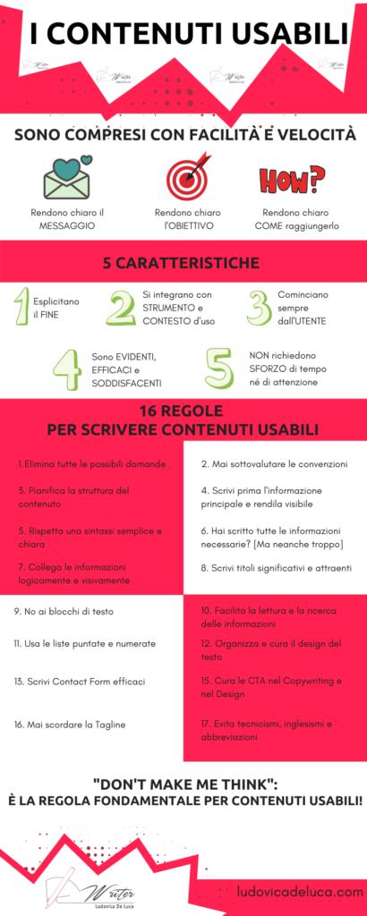 Contenuti Usabili: Infografica